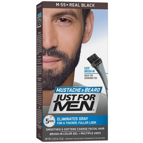 b7b92c8914e Just For Men Mustache And Beard Hair Color   Target