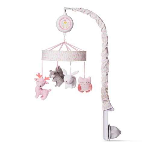 Crib Mobile Forest Frolic - Cloud Island™ - Pink - image 1 of 1