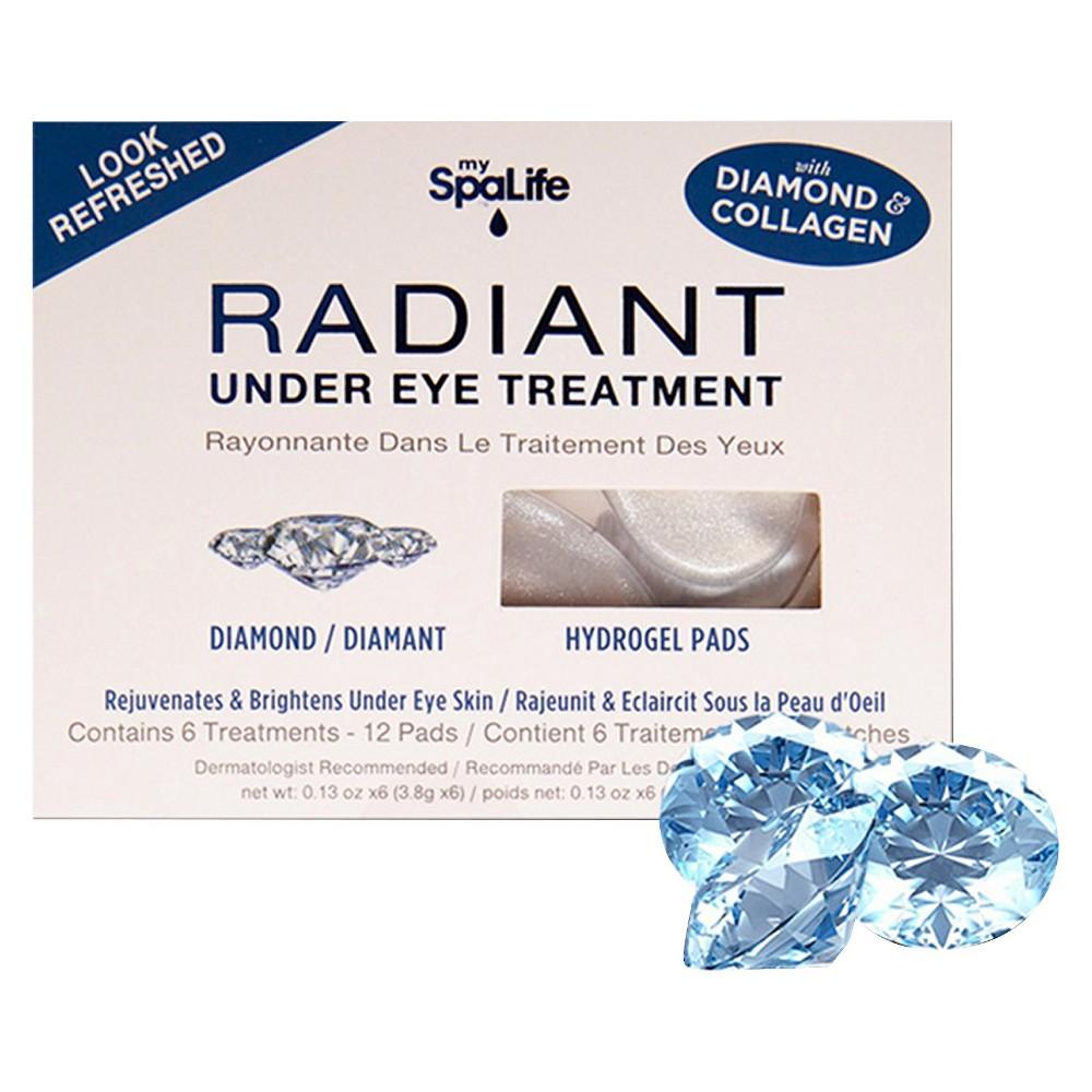 SpaLife Radiant Under Eye Treatment - 12 pads