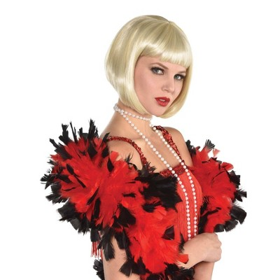 Flapper Blonde Halloween Costume Wig