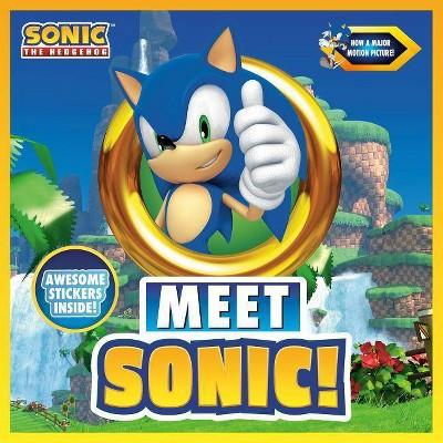 Meet Sonic! -  (Sonic the Hedgehog) by Aldo B. Jerkins (Paperback)