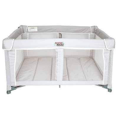 Romp & Roost LUXE Nest Playard Perfect Solution for One or Twins