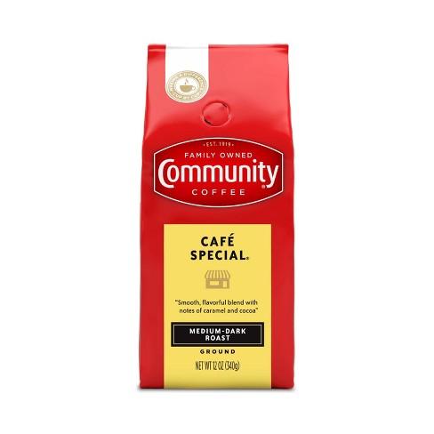 Community Coffee Cafe Special Medium Dark Roast Ground Coffee - 12oz - image 1 of 4