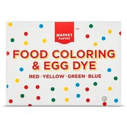 Assorted Food Color Bottles - 1oz/4ct - Market Pantry™