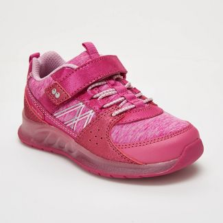 Toddler Girls' Surprize by Stride Rite Ardo Light-Up Sneakers - Pink 7