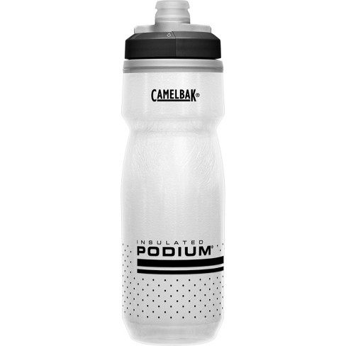 CamelBak 21oz Podium Chill Insulated Squeeze Water Bottle - White/Black - image 1 of 4