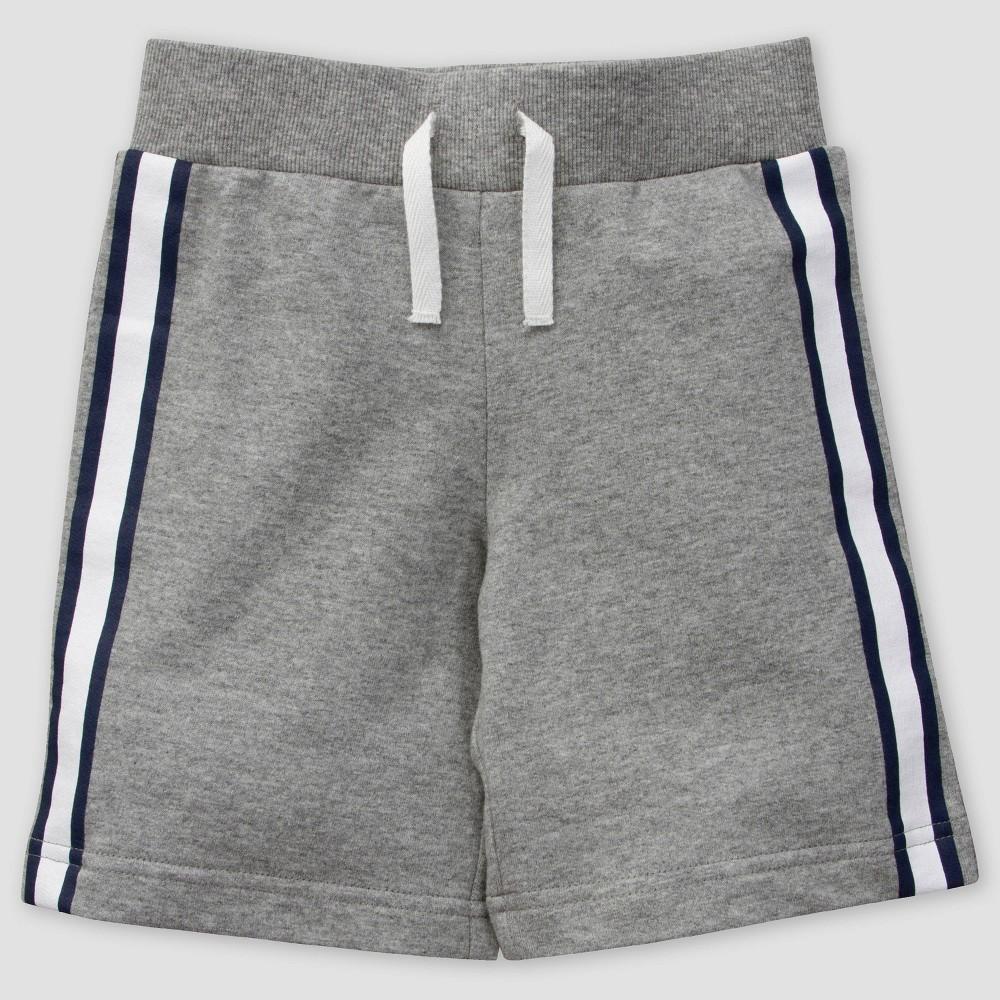 Image of Gerber Toddler Boys' Shorts - Gray 3T, Boy's