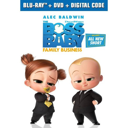Boss Baby: Family Business (Target Exclusive)(Blu-ray + DVD + Digital) - image 1 of 2