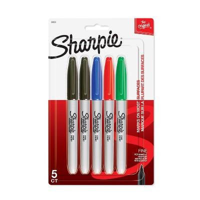 Sharpie Fine Tip Permanent Markers Multicolor