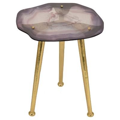 Pleasing Glass Agate Accent Table Nate Berkus Target Inventory Lamtechconsult Wood Chair Design Ideas Lamtechconsultcom