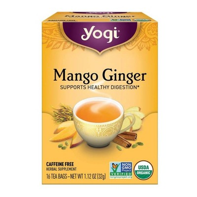 Yogi Tea - Mango Ginger Tea - 16ct