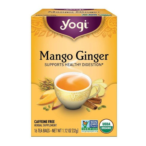 Yogi Tea - Mango Ginger Tea - 16ct - image 1 of 4