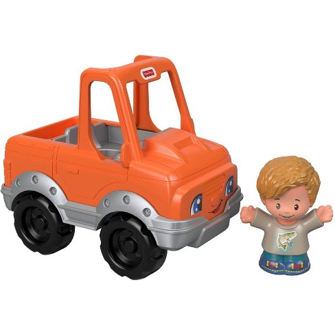 Fisher-Price Little People Help a Friend Pick Up Truck - Orange - image 1 of 4