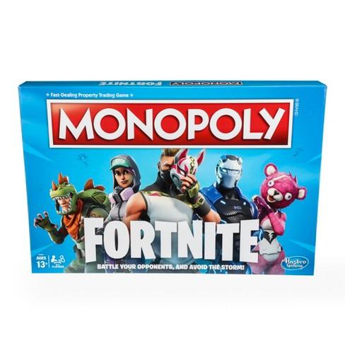 Monopoly Fortnite Board Game Target