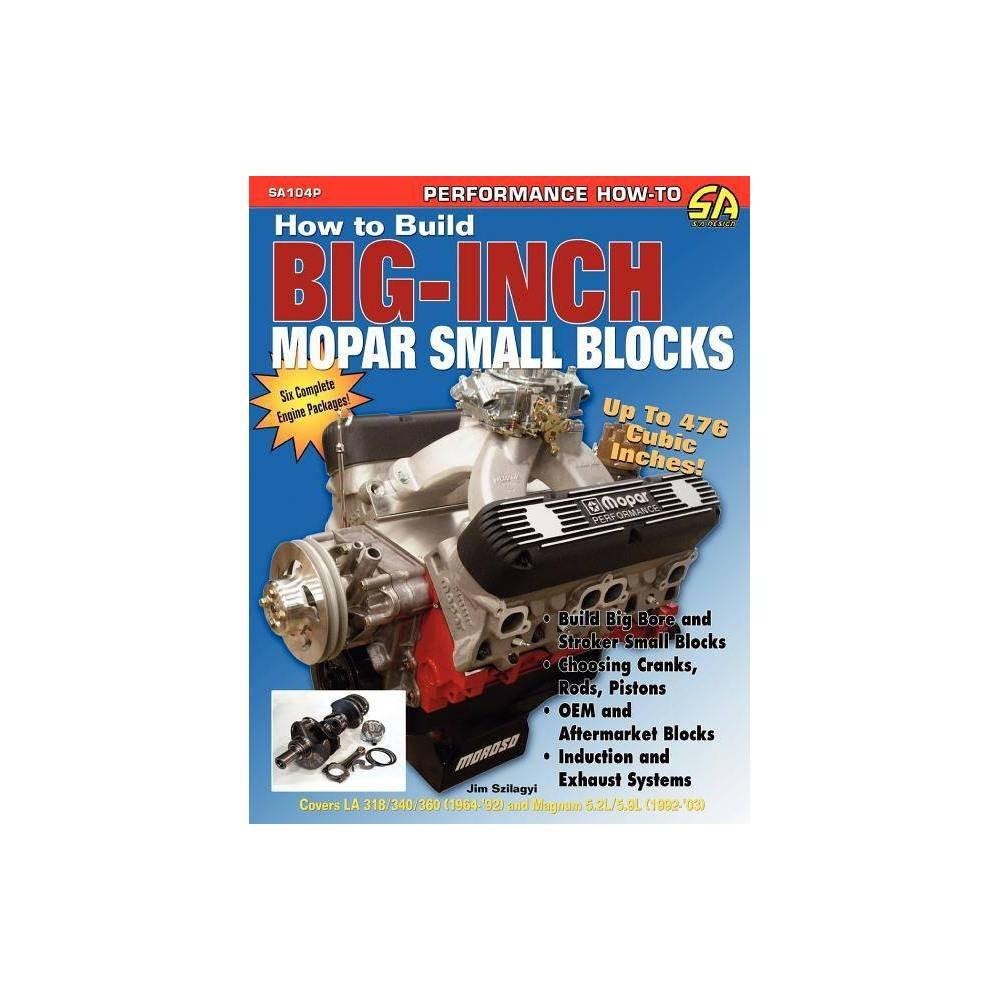 How to Build Big-Inch Mopar Small Blocks - by Jim Szilagy (Paperback)