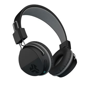 JLab Neon Wireless On-Ear Headphones - Black (HBNEONBLK4)