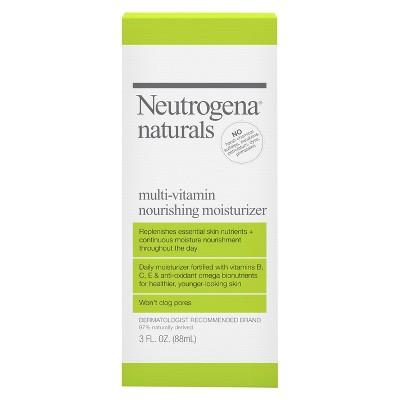 Facial Moisturizer: Neutrogena Naturals Multi-Vitamin Nourishing Moisturizer