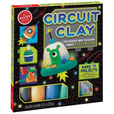 Circuit Clay : The Easiest Way to Learn About Electricity (Paperback) (Klutz)