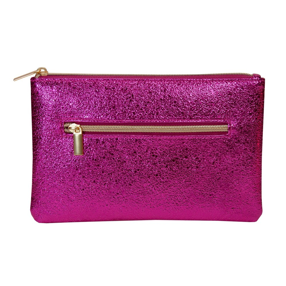 Image of Allegro Zipper Pouch - Pink Shimmer