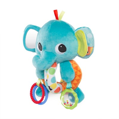Bright Starts™ Explore & Cuddle Elephant - Blue