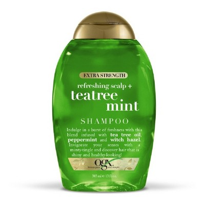 Shampoo & Conditioner: OGX Teatree Mint Extra Strength