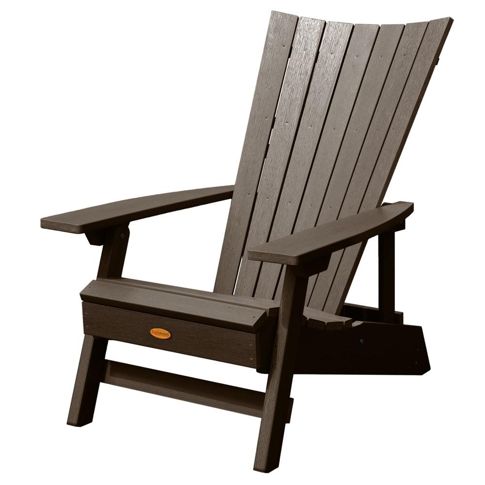 Manhattan Beach Adirondack Chair Weathered Acorn - Highwood