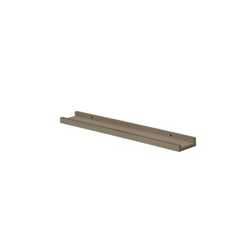 """32"""" x 4"""" Border Shelf Driftwood - Dolle Shelving - image 1 of 3"""