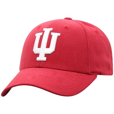 NCAA Indiana Hoosiers Men's Structured Brushed Cotton Hat
