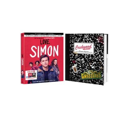 Love, Simon Target Exclusive (Blu-ray + DVD + Digital)