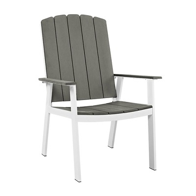 Metal/Wood Coastal Dining Chairs 2pk - White/Gray - Saracina Home  Target  sc 1 st  Target & Metal/Wood Coastal Dining Chairs 2pk - White/Gray - Saracina Home ...