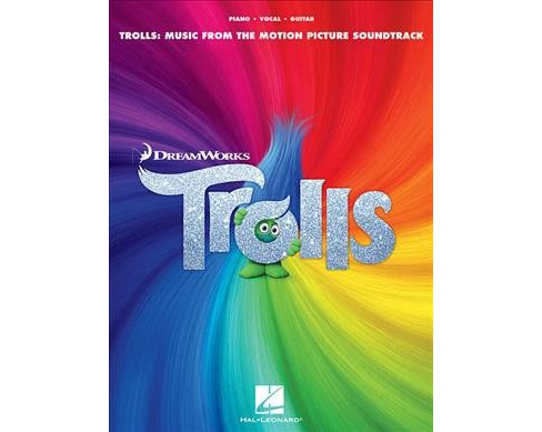 Trolls : Music from the Motion Picture Soundtrack (Paperback) - image 1 of 1