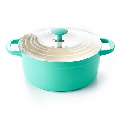 GreenPan Vintage Dutch Oven Teal - 4.5qt