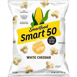 Smart50 White Cheddar Popcorn - 6oz