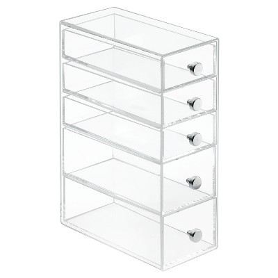 InterDesign Desktop Storage Unit - Clear
