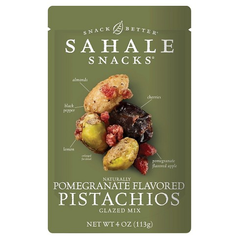 Sahale Snacks® Pomegranate Flavored Pistachios - 4oz - image 1 of 1