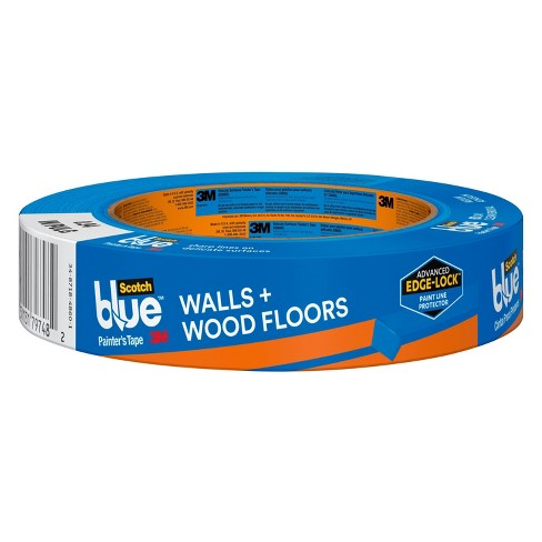 ScotchBlue™ Walls + Wood Floors Painter's Tape with Edge-Lock™, .94 in x 45 yd - image 1 of 16