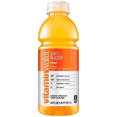 vitaminwater zero rise orange - 20 fl oz Bottle
