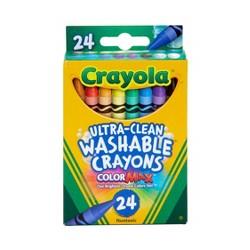 Crayola UltraClean Crayons Washable 24ct