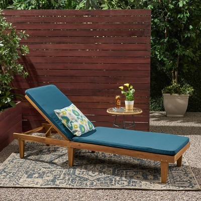 Nadine Patio Chaise Lounge - Christopher Knight Home