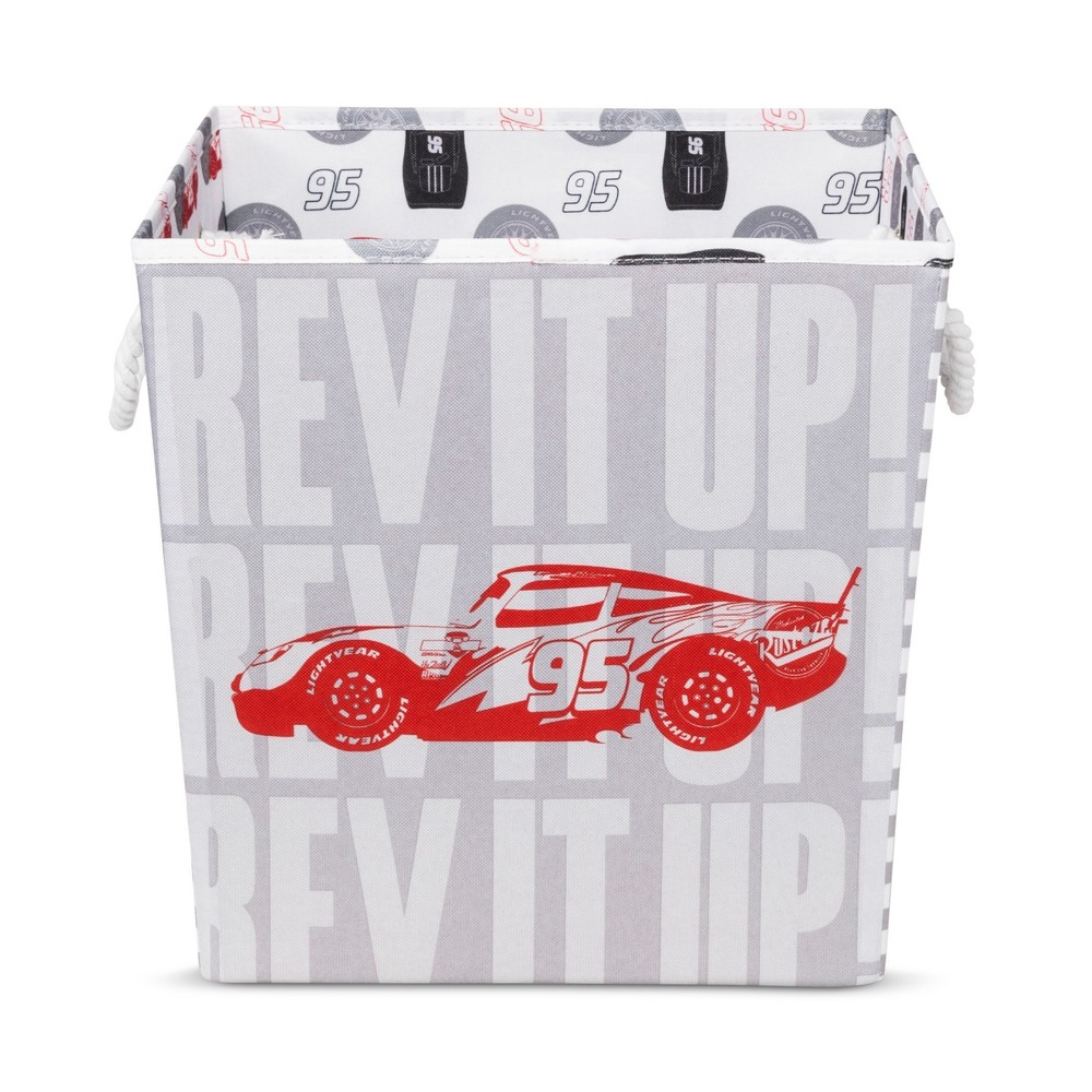 Cars Play All Day Red Storage Bin (13
