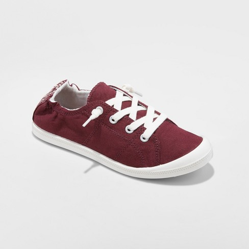 4560f035e106 Women s Mad Love Lennie Flexible Bottom Lace Up Canvas Sneakers   Target