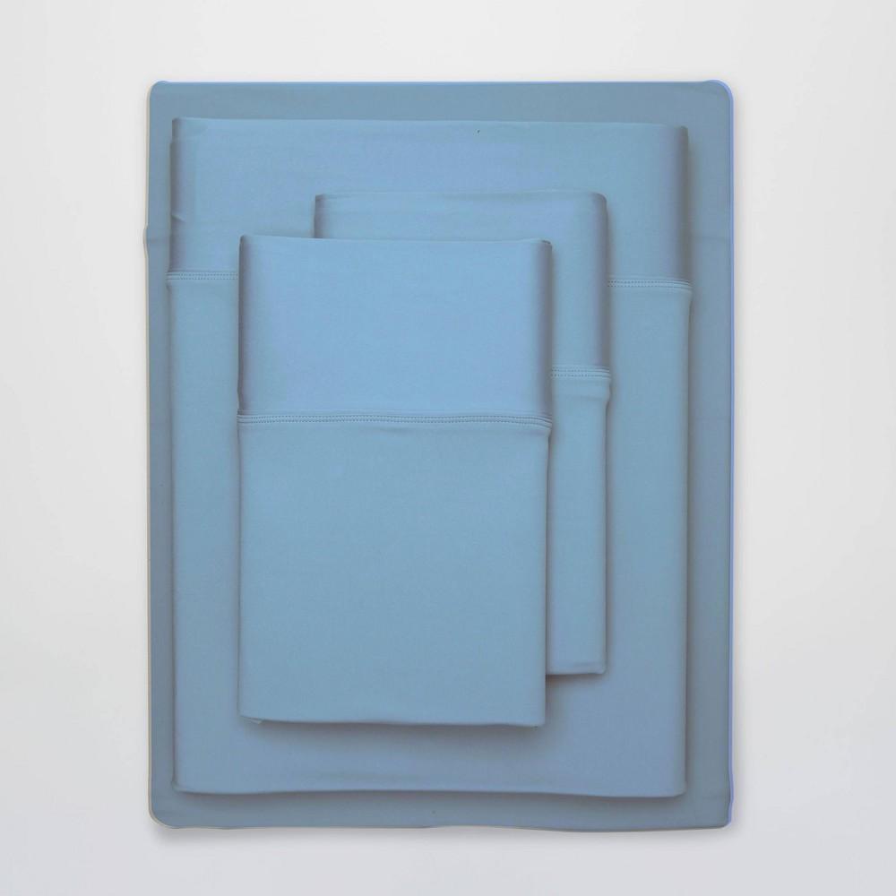 Image of Full Ultra Air Solid Sheet Set Carolina Blue - SHEEX