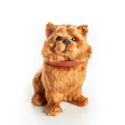 """The Queen's Treasures 18"""" Doll Pet Accessory - Pomeranian Dog with Collar & Leash"""