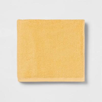 Everyday Bath Towel Yellow - Room Essentials™