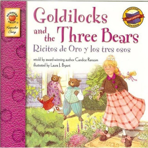 Goldilocks and the Three Bears/Ricitos de Oro y Los Tres Osos - by  Candice F Ransom (Hardcover) - image 1 of 1