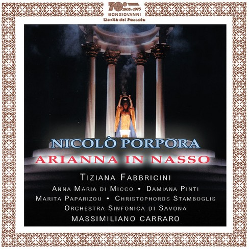 Various - Porpora:Arianna In Nasso (CD) - image 1 of 1