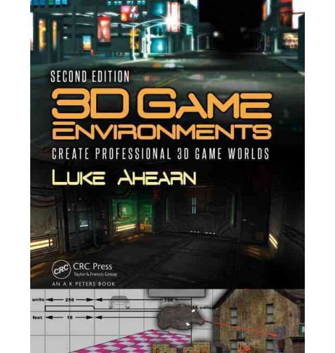 3D Game Environments : Create Professional 3D Game Worlds (Paperback) (Luke Ahearn) - image 1 of 1