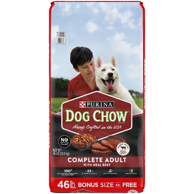 Purina Dog Chow with Real Beef Adult Complete & Balanced Dry Dog Food