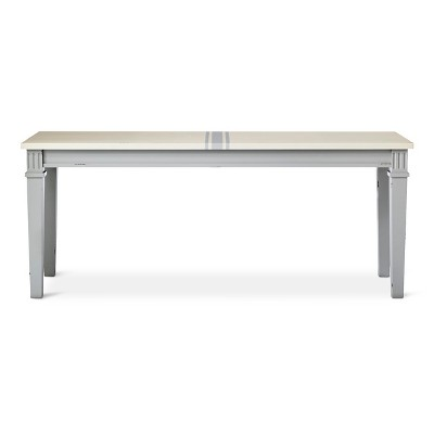 Westville 45  Distressed Dining Bench - Gray - Beekman 1802 FarmHouse™