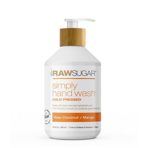 Raw Sugar Simply  Hand Wash Raw Coconut + Mango - 16.9 fl oz - image 1 of 4